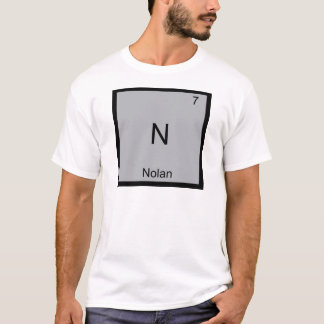 N - Nolan Funny Chemistry Element Symbol T-Shirt