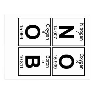 N-O-O-B (noob) - Full Postcard