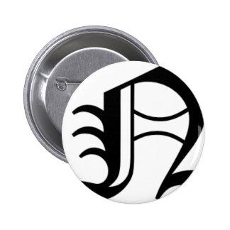 N-text Old English Pin