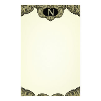 N - The Falck Alphabet (Golden) Stationery