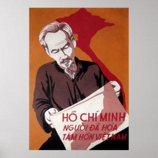 N. VIETNAM - HO CHI MINH - SOUL of the VIETNAMESE Poster