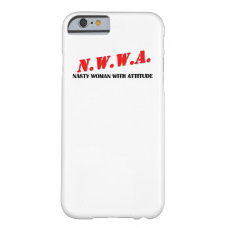 N.W.W.A. - Nasty Woman With Attitude I-Phone Case