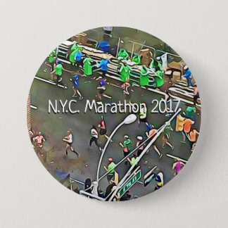 N.Y.C. Marathon 2017 Runners & Volunteers Button