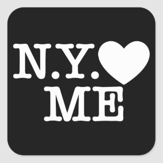 N.Y. Love Me Stickers