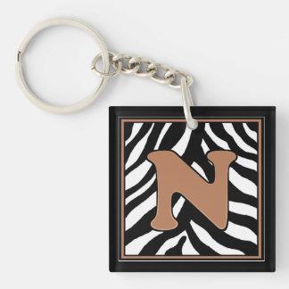 N-Zebra Keychain