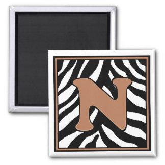 N-Zebra Magnet