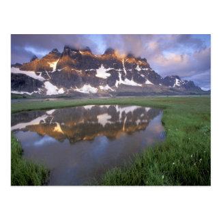NA, Canada, Alberta, Tonoquin Valley. Jasper Postcard