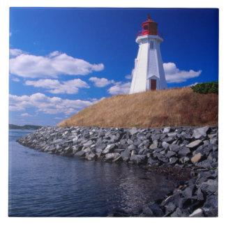 NA, Canada, New Brunswick, Campabello Island. Tile