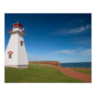 NA, Canada, Prince Edward Island. Cape Tryon Poster