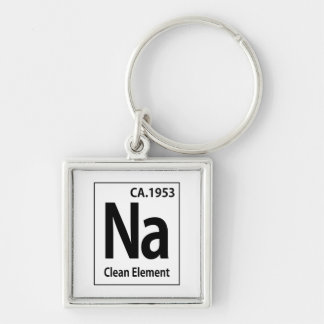 NA Clean Element Periodic Table Keychain