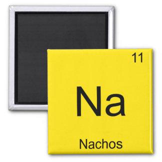 Na - Nachos Funny Chemistry Element Symbol T-Shirt Magnet