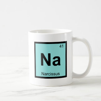 Na - Narcissus Greek Chemistry Periodic Table Coffee Mug
