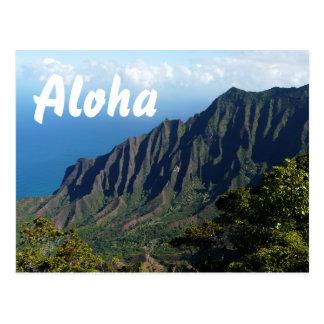 Na Pali Coast postcard