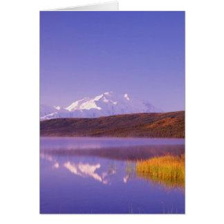 NA, USA, Alaska, Denali NP, Wonder Lake, Mt. Card