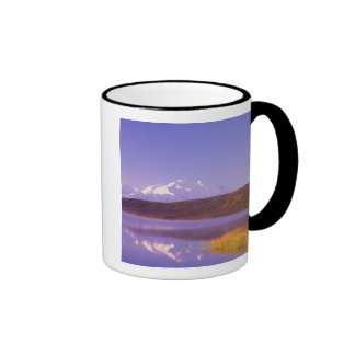 NA, USA, Alaska, Denali NP, Wonder Lake, Mt. Ringer Mug