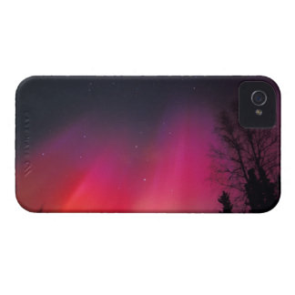 NA, USA, Alaska, Fairbanks, Curtains of pink and iPhone 4 Cover