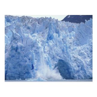 NA, USA, Alaska. Glacier crumbling into water Postcard