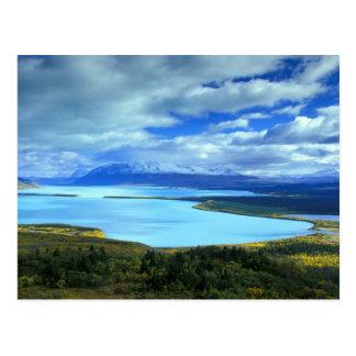 NA, USA, Alaska, Katmai NP, Naknek Lake. The Postcard