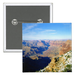 NA, USA, Arizona. Grand Canyon National Park. 15 Cm Square Badge
