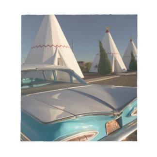 NA, USA, Arizona, Holbrook Route 66, Wigwam 2 Notepad