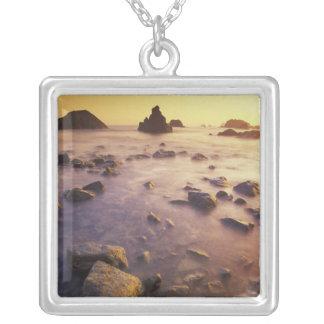 NA, USA, California, Northern California, Square Pendant Necklace
