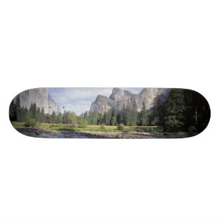 NA, USA, California, Yosemite NP, Valley view 21.6 Cm Old School Skateboard Deck
