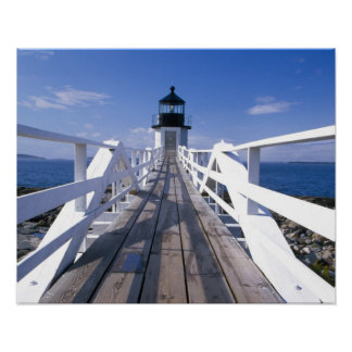 NA, USA, Maine, Port Clyde.  Marshall Point 2 Poster