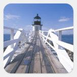 NA, USA, Maine, Port Clyde.  Marshall Point 2 Sticker