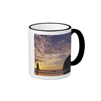 NA, USA, Oregon, Oregon Coast, Canon Beach with Ringer Mug