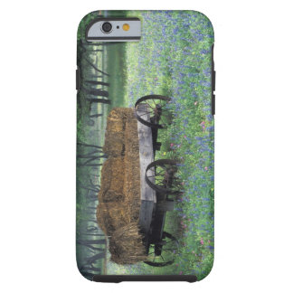 NA, USA, Texas, east of Devine, Old wagon in Tough iPhone 6 Case
