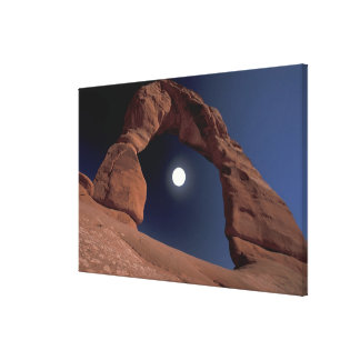 NA, USA, Utah, Arches National Park. Delicate Gallery Wrapped Canvas