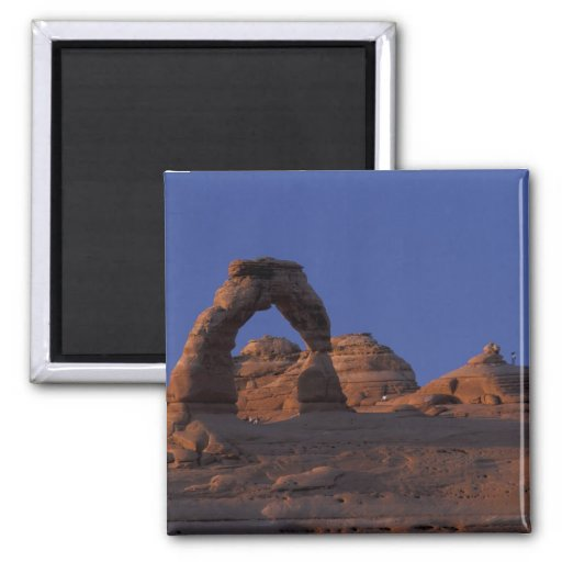 NA, USA, Utah, Arches National Park. Delicate Fridge Magnets
