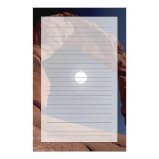 NA, USA, Utah, Arches National Park. Delicate Personalised Stationery