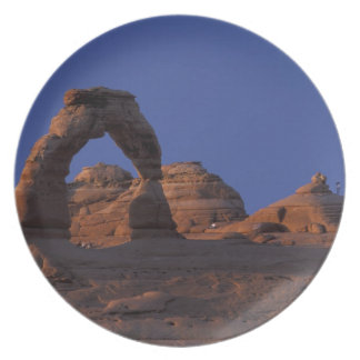 NA USA Utah Arches National Park Delicate Dinner Plates