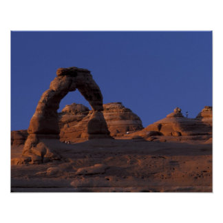NA, USA, Utah, Arches National Park. Delicate Poster