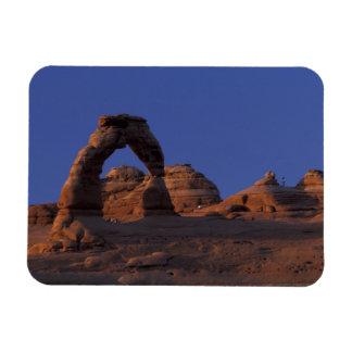 NA, USA, Utah, Arches National Park. Delicate Rectangular Photo Magnet