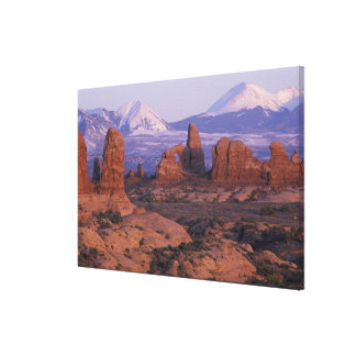 NA, USA, Utah, Arches National Park. Garden of Stretched Canvas Print