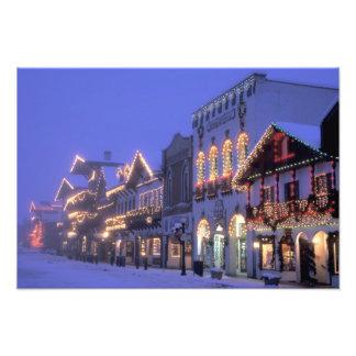 NA, USA, Washington, Leavenworth. Main Street Photographic Print