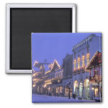 NA, USA, Washington, Leavenworth. Main Street Square Magnet