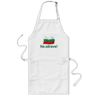Na zdrave (to health) long apron