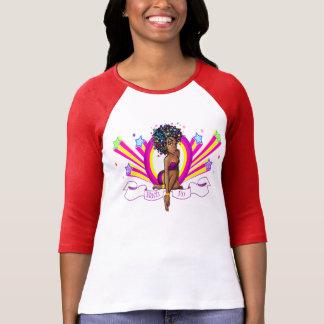 "Nach-Ro ""Starz"" 3/4 Sleeve Raglan T-Shirt! Shirts"