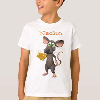 Nacho Cheese Toon Mouse T-Shirt