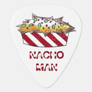 NACHO (Macho / Not Yo) MAN Cheese Nachos Foodie Guitar Pick
