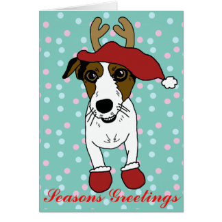 Nacho the Jack Russell Terrier Card