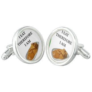 nachos cuff links