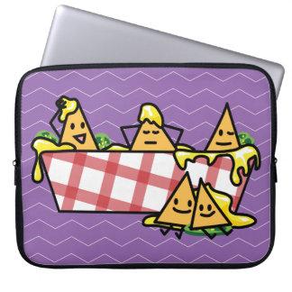 Nachos Melted Cheese Jalapeno Nacho tortilla chips Laptop Sleeve