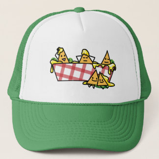 Nachos Melted Cheese Jalapeno Nacho tortilla chips Trucker Hat