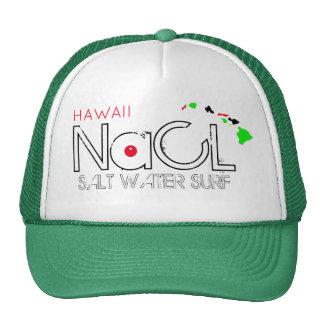 NaCL SALT WATER SURF HAWAII Cap