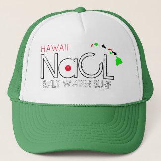 NaCL SALT WATER SURF HAWAII Trucker Hat