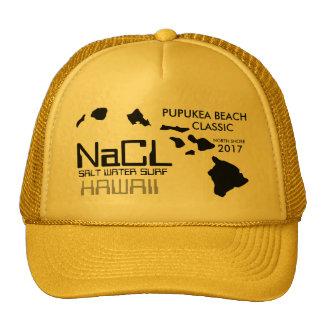 NaCL SALT WATER SURF PUPUKEA BEACH Cap